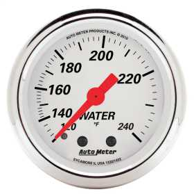 Arctic White™ Mechanical Water Temperature Gauge