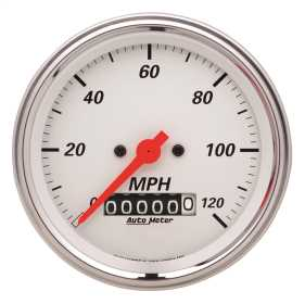 Arctic White™ Electric Programmable Speedometer