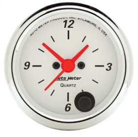 Arctic White™ Clock