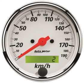 Arctic White™ Electric Programmable Speedometer 1388-M