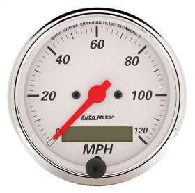 Arctic White™ Electric Programmable Speedometer 1388