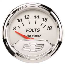 Chevy Vintage™ Electric Voltmeter Gauge