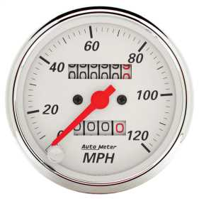 Arctic White™ Mechanical Speedometer
