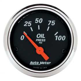 Designer Black™ Oil Pressure Gauge