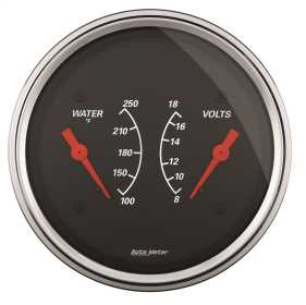 Designer Black™ Water Temperature Gauge