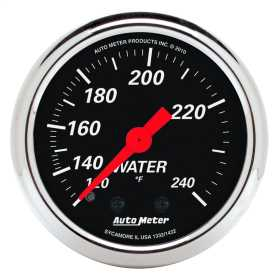 Designer Black™ Mechanical Water Temperature Gauge