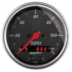 Designer Black™ Speedometer