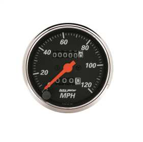 Designer Black™ Mechanical Speedometer 1476