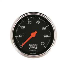 Designer Black™ In-Dash Electric Tachometer 1478
