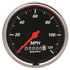 Designer Black™ Electric Programmable Speedometer