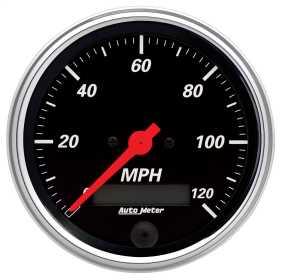 Designer Black™ Electric Programmable Speedometer 1480