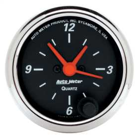 Designer Black™ Clock
