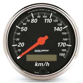 Designer Black™ Electric Programmable Speedometer 1487-M