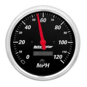 Designer Black™ Electric Programmable Speedometer 1489