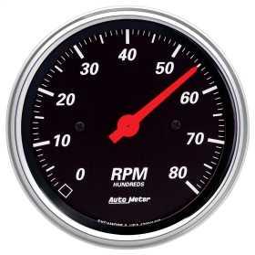 Designer Black™ In-Dash Electric Tachometer 1490