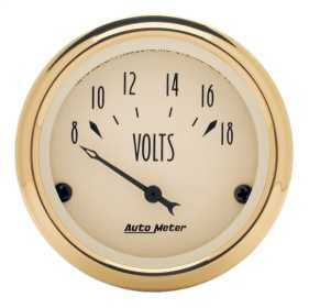 Golden Oldies™ Voltmeter Gauge