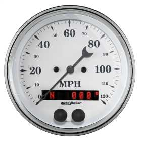 Old Tyme White™ Electric Programmable Speedometer