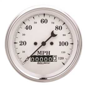 Old Tyme White™ Electric Programmable Speedometer 1679