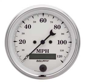 Old Tyme White™ Electric Programmable Speedometer 1680