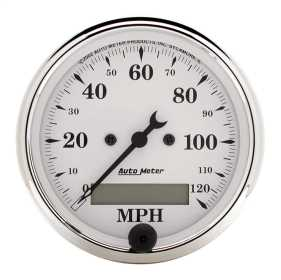 Old Tyme White™ Electric Programmable Speedometer 1688