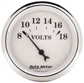 Old Tyme White™ Voltmeter Gauge
