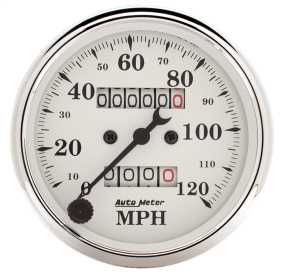 Old Tyme White™ Mechanical Speedometer 1693