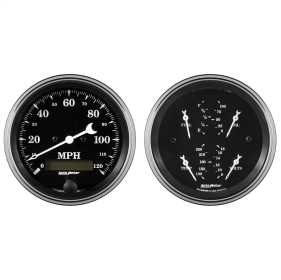 Old Tyme Black™ Quad/Speedometer Kit