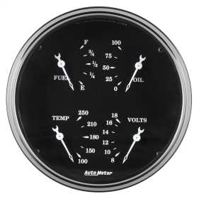 Old Tyme Black™ Electric Quad Gauge