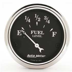 Old Tyme Black™ Fuel Level Gauge
