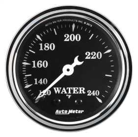 Old Tyme Black™ Mechanical Water Temperature Gauge