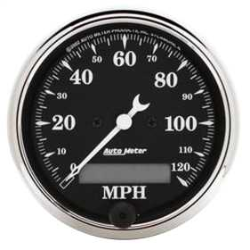 Old Tyme Black™ Electric Programmable Speedometer 1787