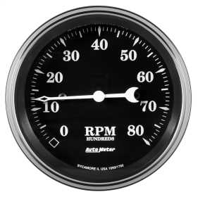 Old Tyme Black™ Electric Programmable Speedometer 1790
