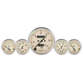 Antique Beige™ 5 Gauge Set Fuel/Oil/Speedo/Volt/Water