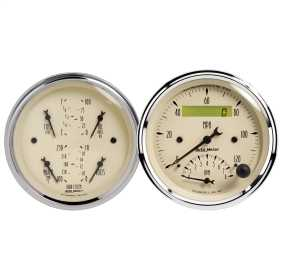 Antique Beige™ Quad Gauge/Tach/Speedo Kit