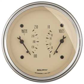 Antique Beige™ Water/Volt Dual Gauge