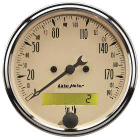 Antique Beige™ Electric Programmable Speedometer 1887-M