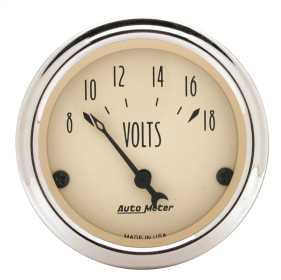 Antique Beige™ Voltmeter Gauge