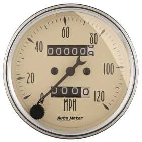 Antique Beige™ Mechanical Speedometer