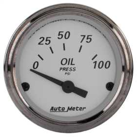 American Platinum™ Electric Oil Pressure Gauge