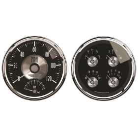 Prestige Series™ Black Diamond Quad Gauge/Tach/Speedo Kit