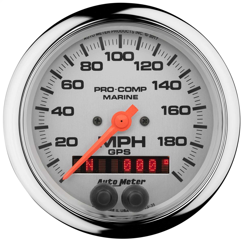 AutoMeter Marine GPS Speedometer 200639-35 200639-35