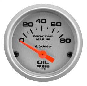 Marine Electric Oil Pressure Gauge