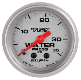 Marine Mechanical Water Pressure Gauge