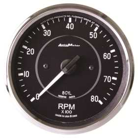 Cobra™ In-Dash Electric Tachometer