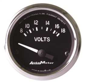 Cobra™ Electric Voltmeter Gauge