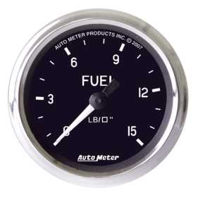 Cobra™ Mechanical Fuel Pressure Gauge