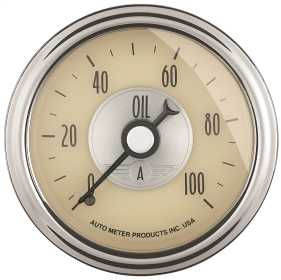 Prestige Series™ Antique Ivory Oil Pressure Gauge
