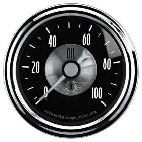 Prestige Series™ Black Diamond Oil Pressure Gauge