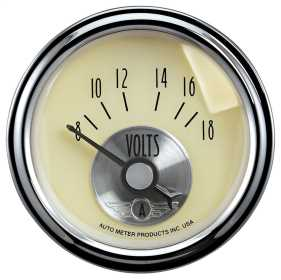 Prestige Series™ Antique Ivory Voltmeter Gauge