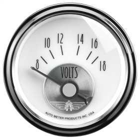 Prestige Series™ Pearl Voltmeter Gauge